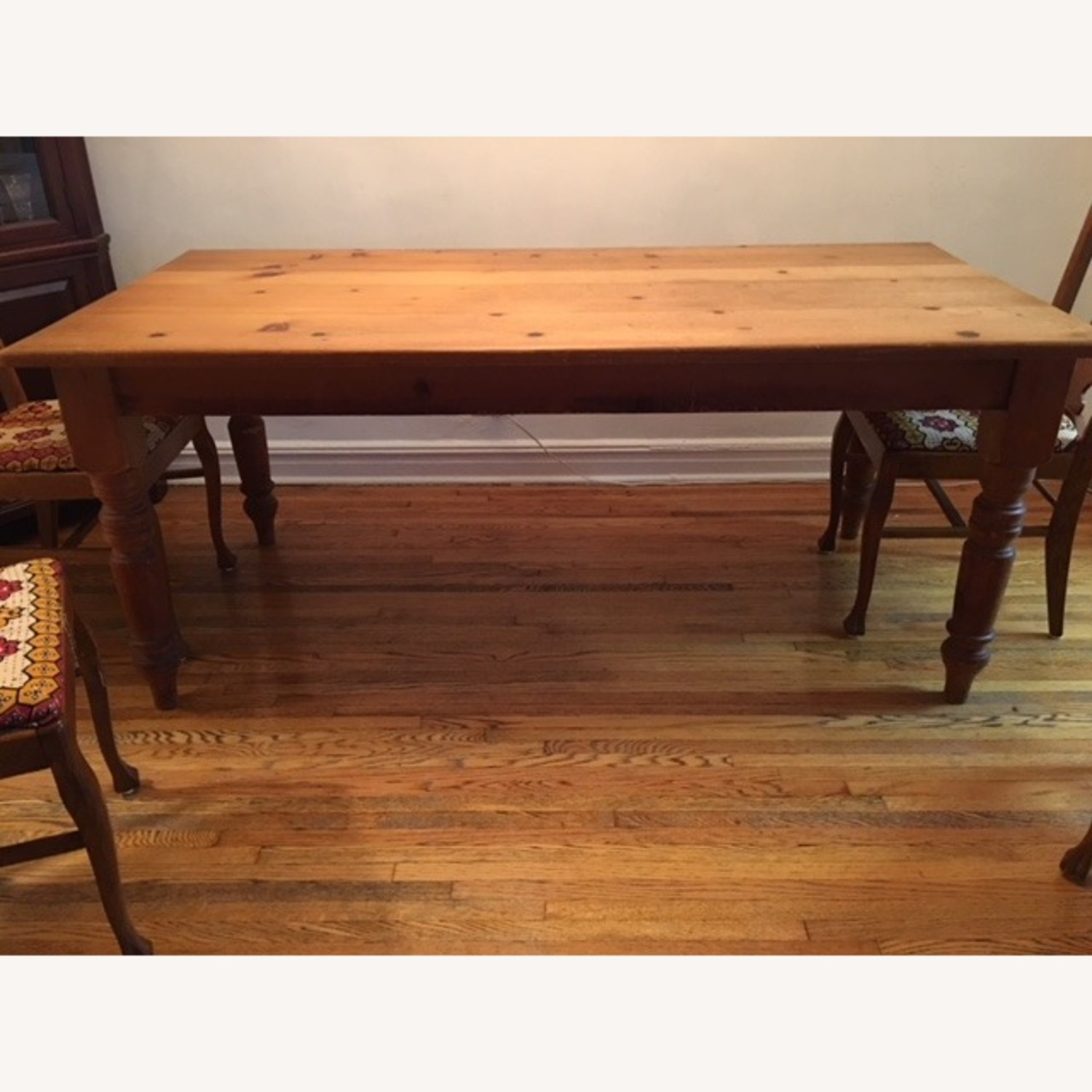 Solid Wood Farm Table - image-1