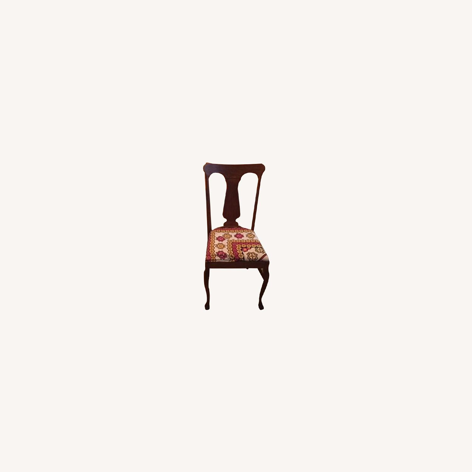 4 Farm Dining Chairs - image-0