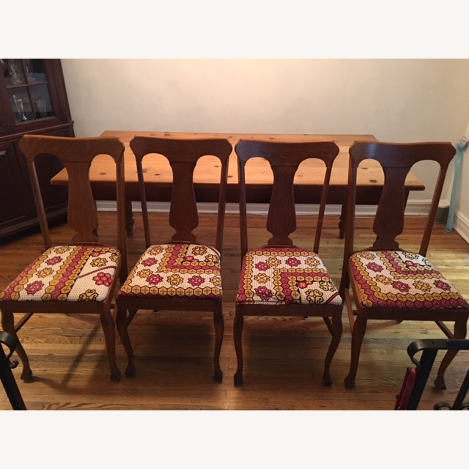 4 Farm Dining Chairs - image-1