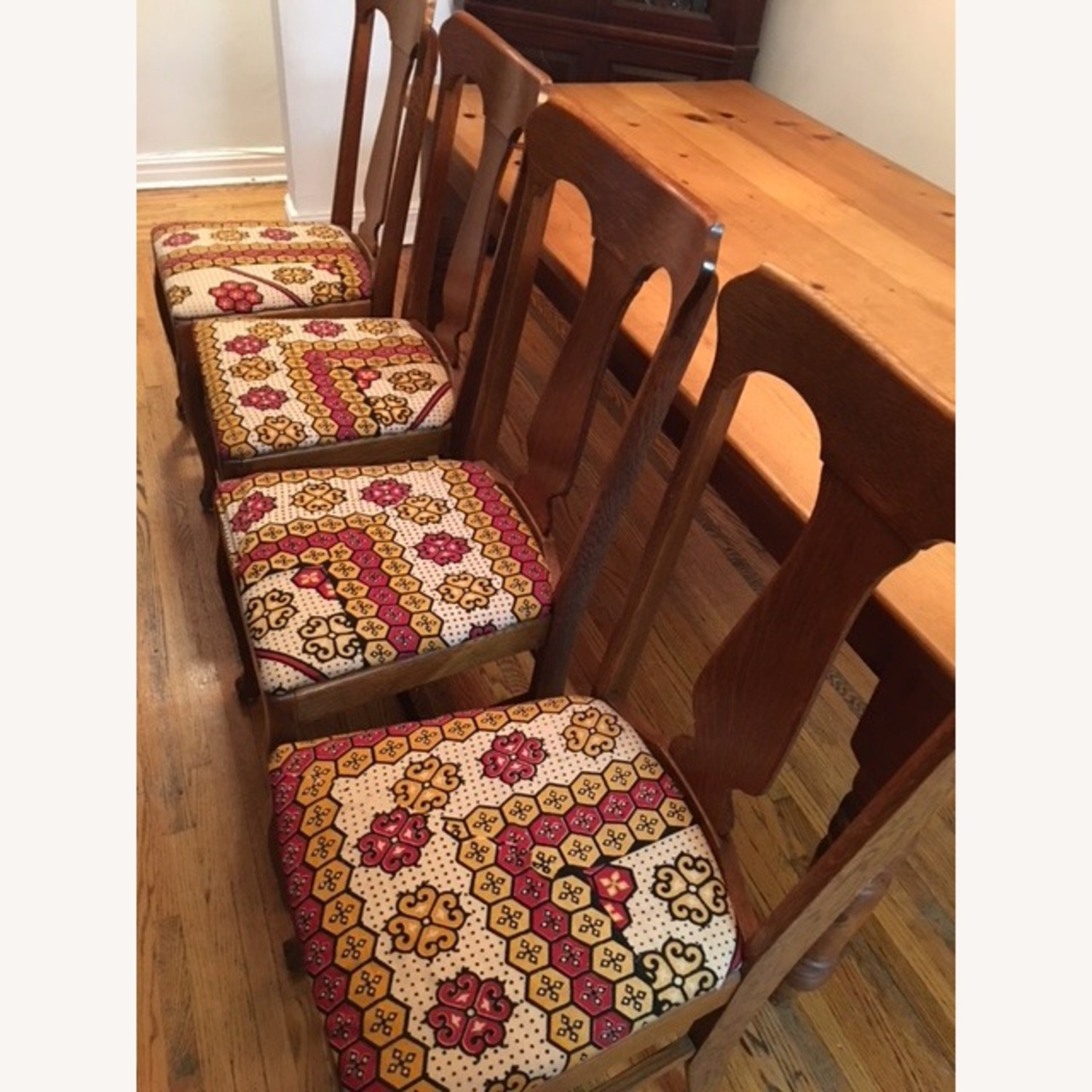 4 Farm Dining Chairs - image-2