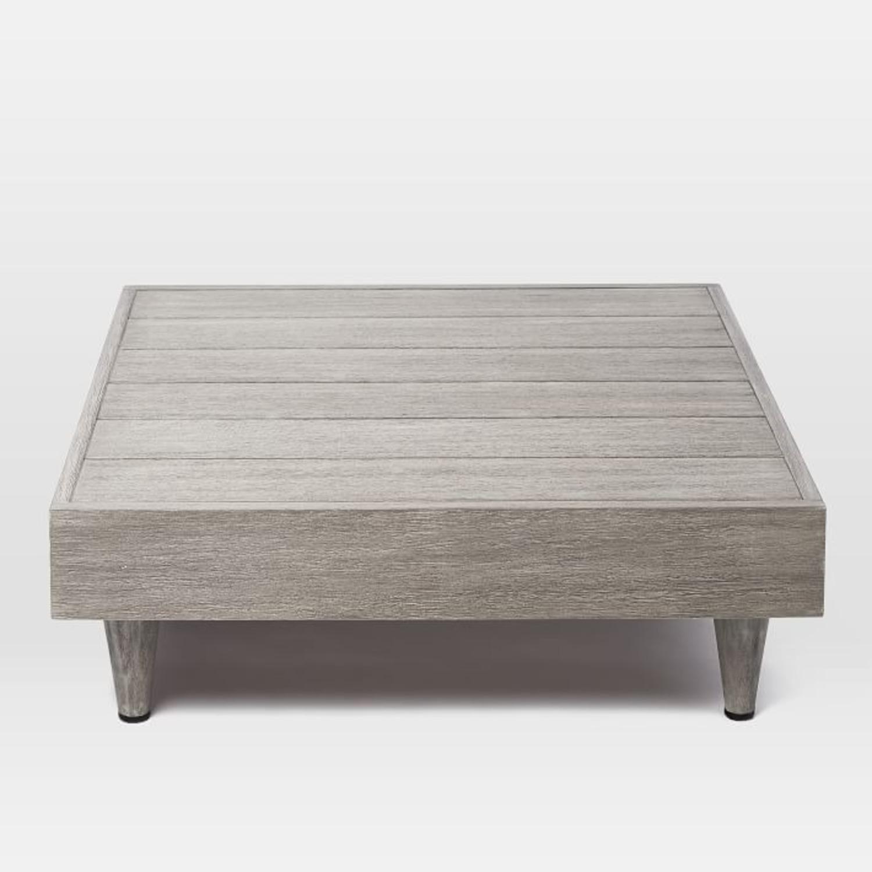 West Elm Portside Low Slab Coffee Table - image-3