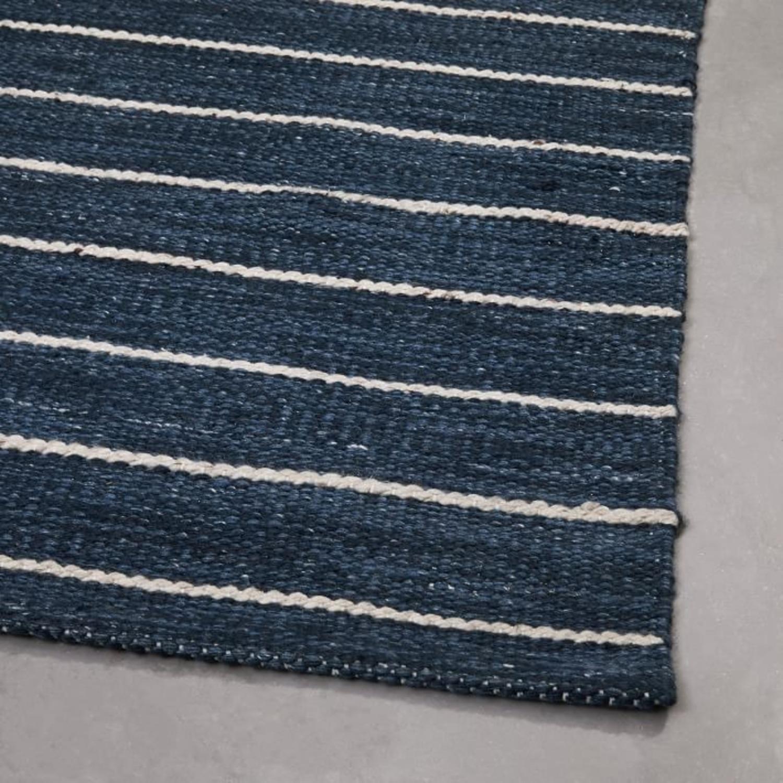 West Elm Cord Stripe Indoor/Outdoor Rug - image-1
