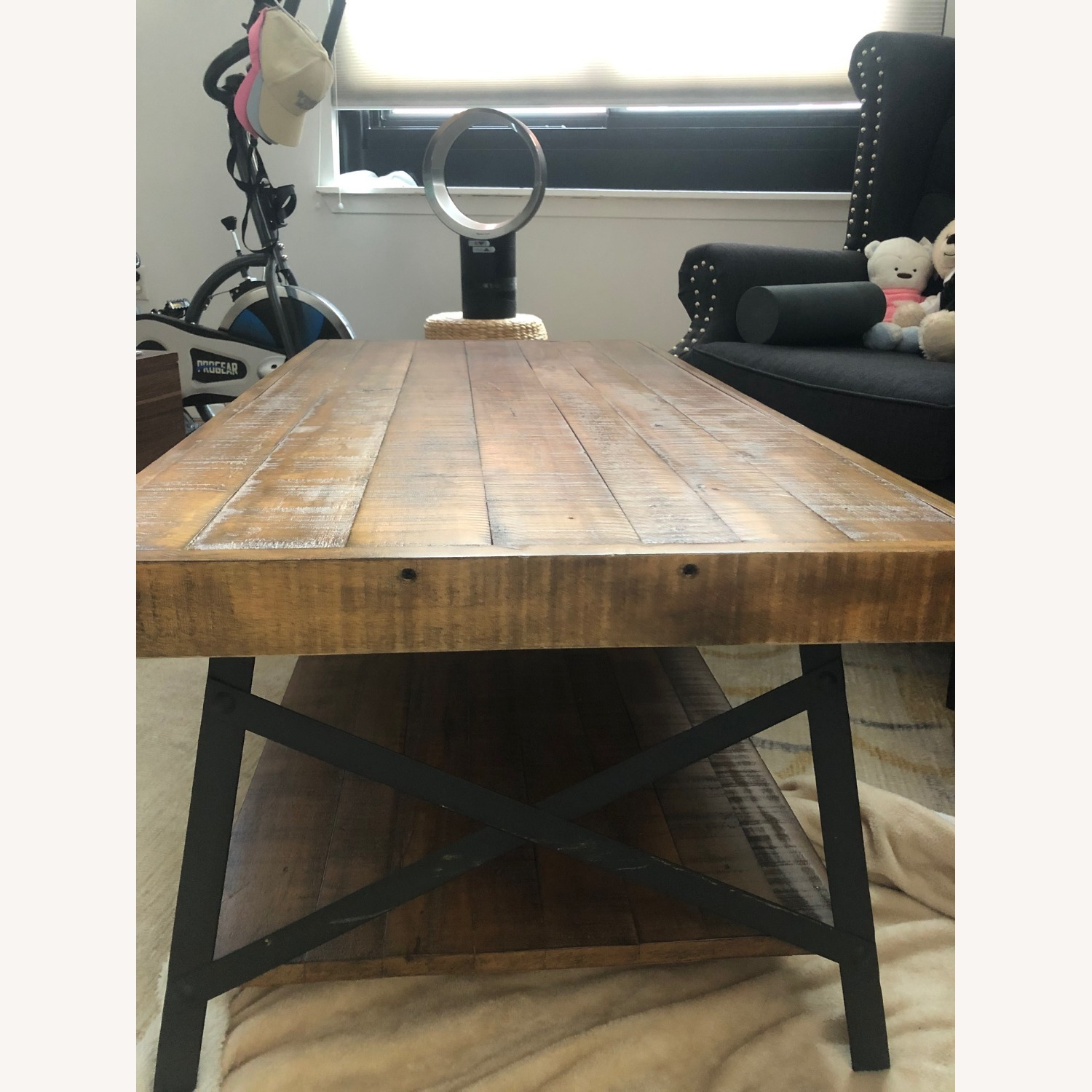 Reclaimed Wood Coffee Table - image-2