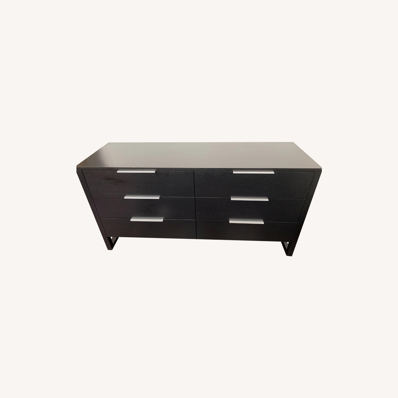 Crate & Barrel Loop 6 Drawer Dresser - image-0