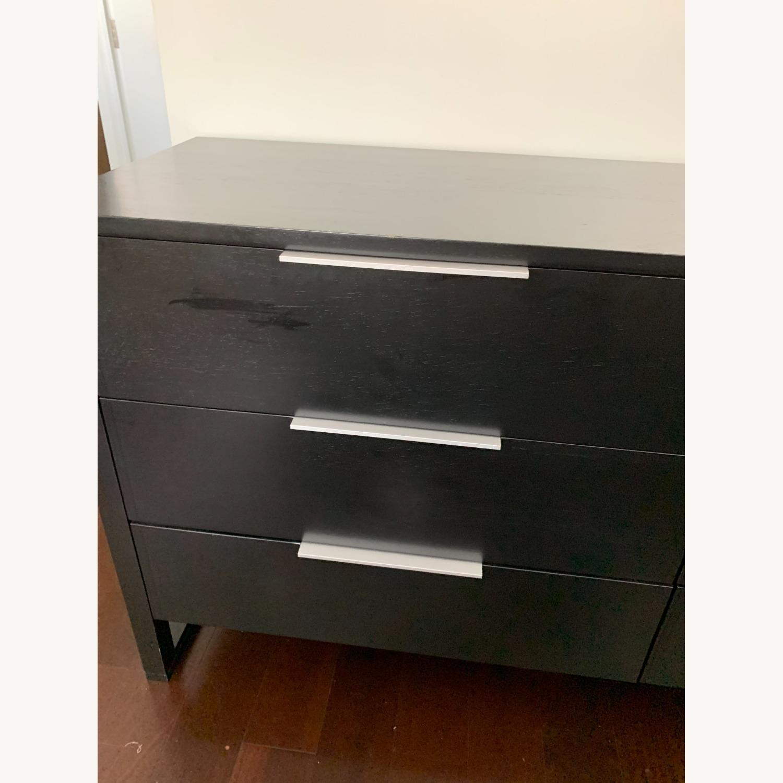 Crate & Barrel Loop 6 Drawer Dresser - image-2
