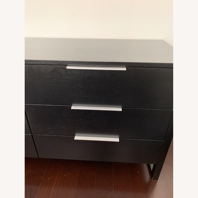 Crate & Barrel Loop 6 Drawer Dresser - image-6