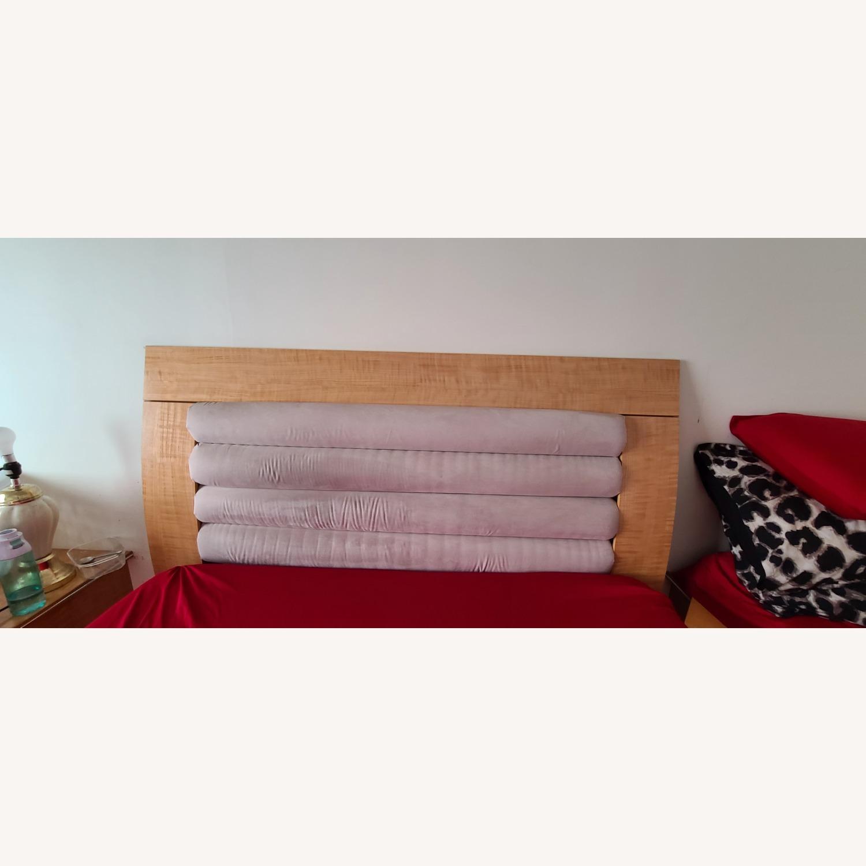 Queen Bed Microfiber Headboard - image-3
