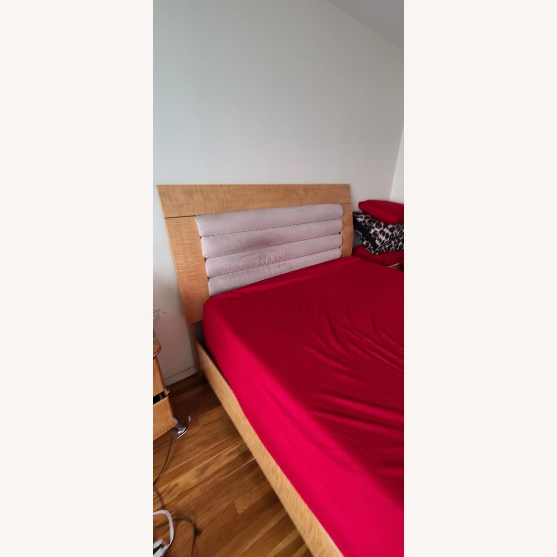 Queen Bed Microfiber Headboard - image-2