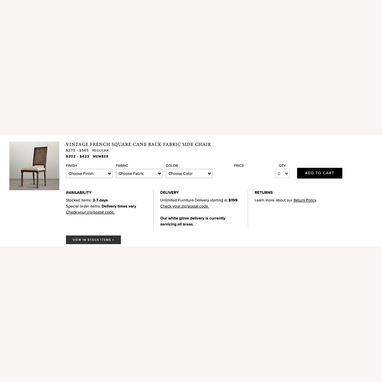 Restoration Hardware Dining Room Chairs - image-3