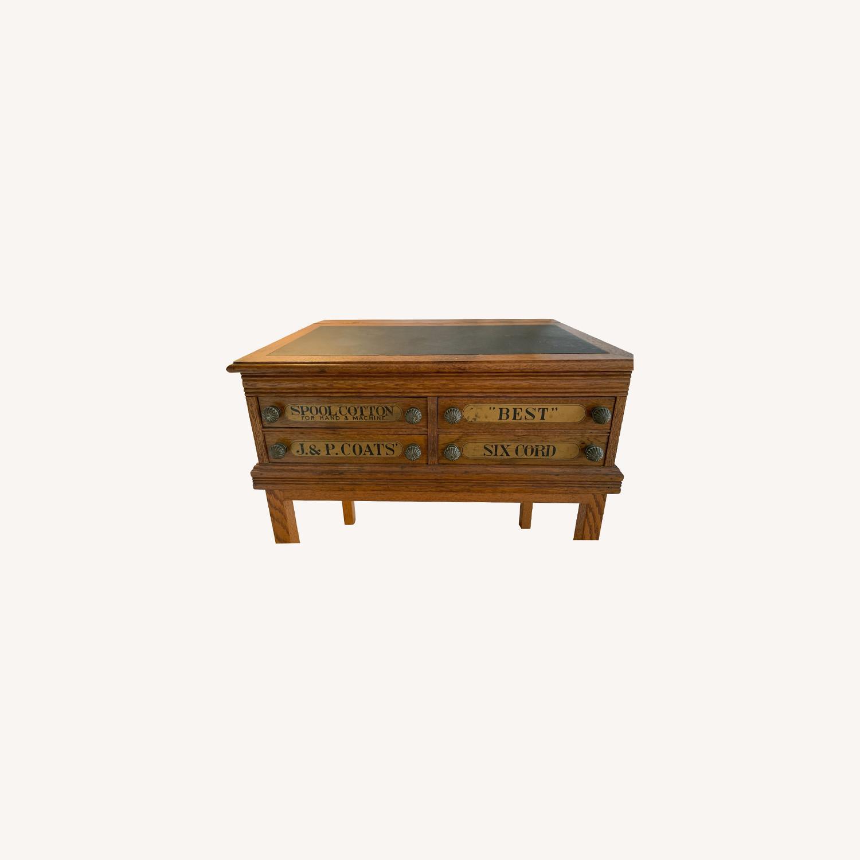 J.&P. Storage Desk (Antique) - image-0