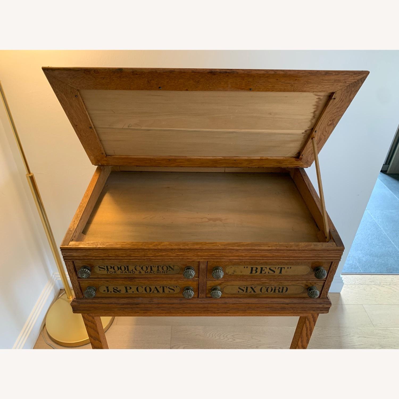 J.&P. Storage Desk (Antique) - image-3