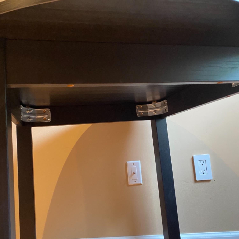IKEA Dark Brown Round Dining Kitchen Table - image-7