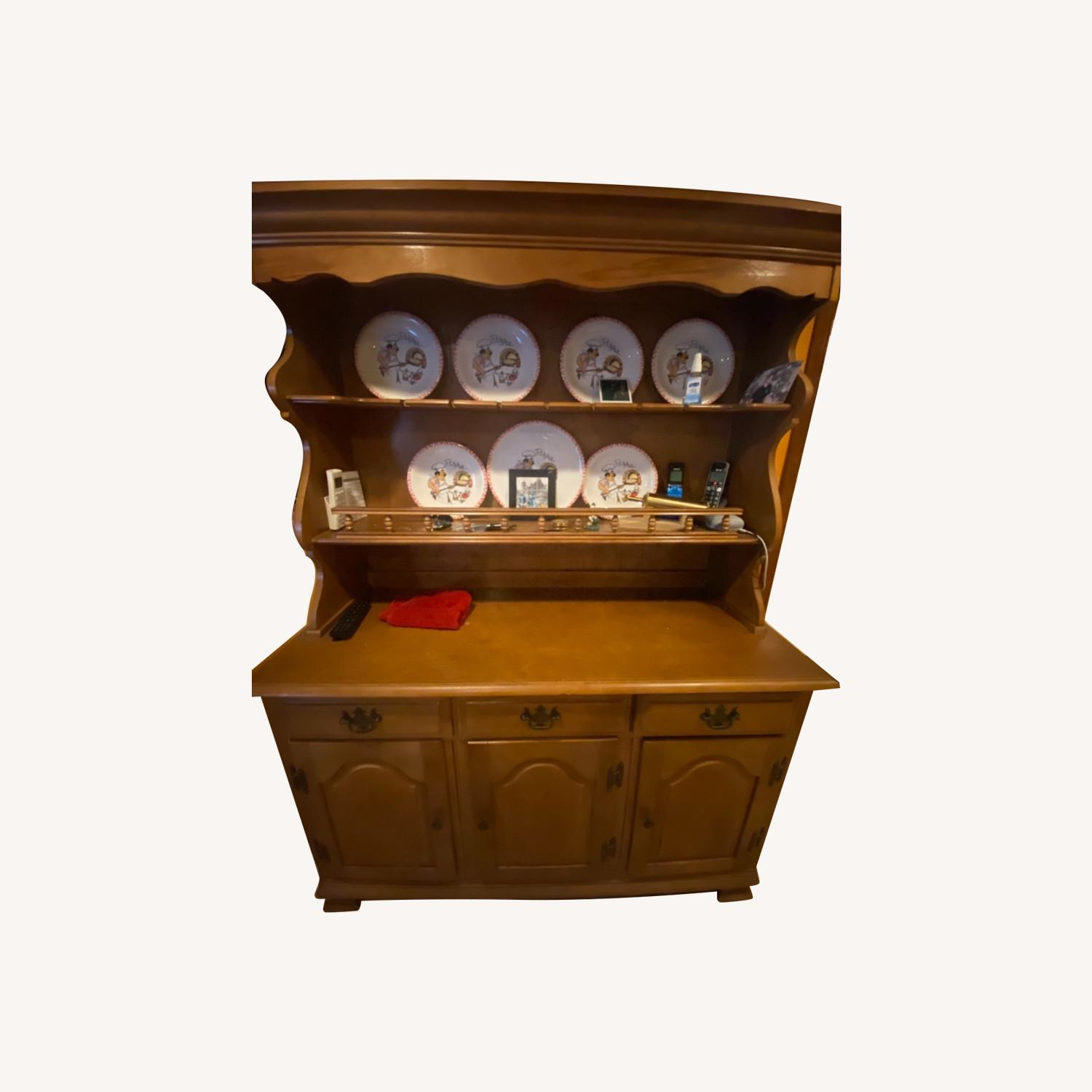 Wooden Hutch - image-0