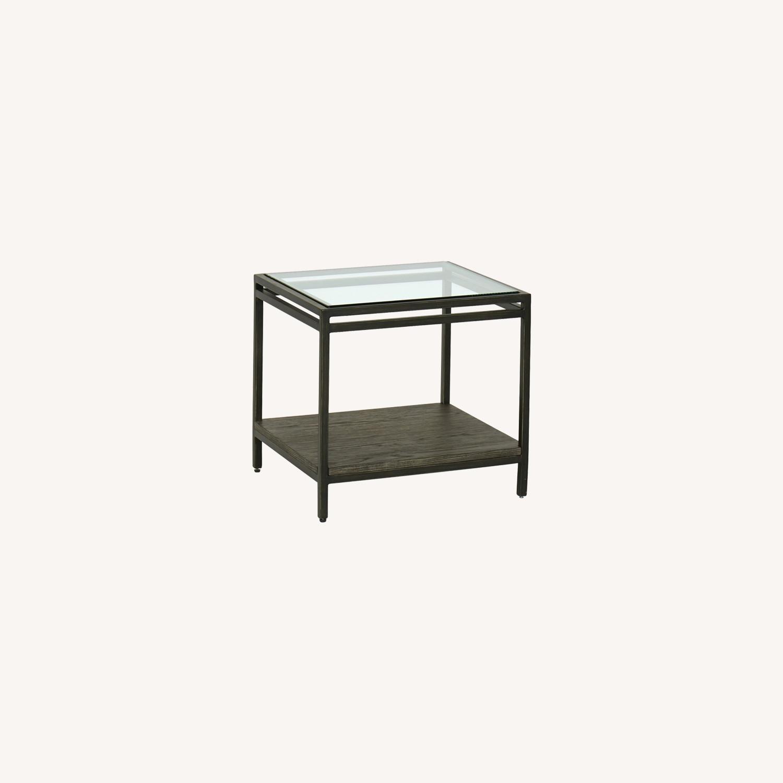 Keaton Bunching Table Glass Top - image-0