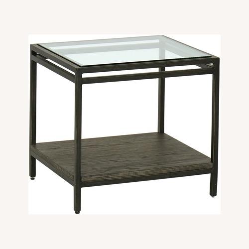 Used Keaton Bunching Table Glass Top for sale on AptDeco