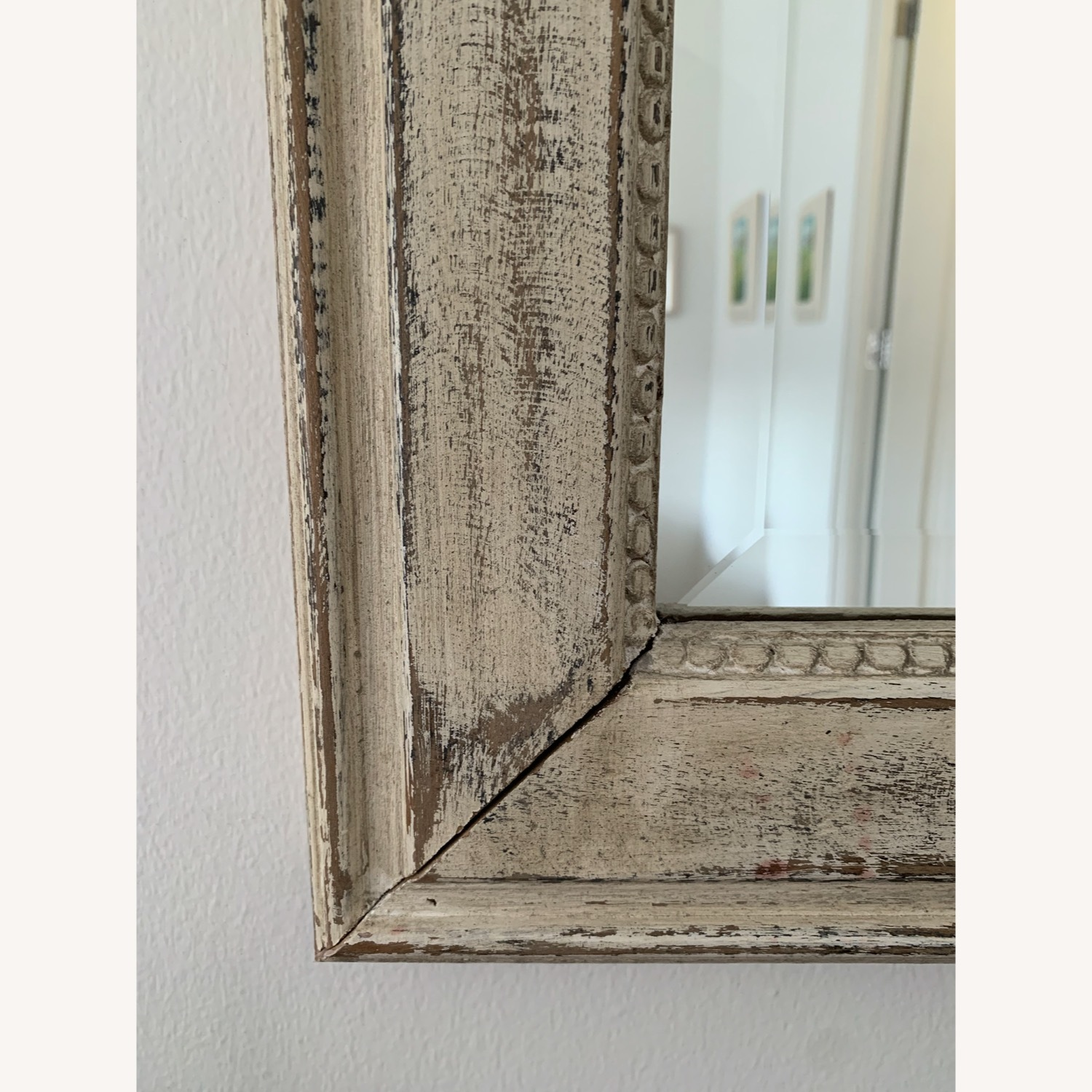 Shabby Chic Distressed Mirror - image-2