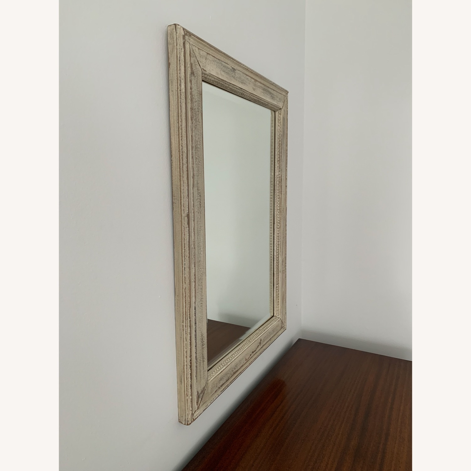 Shabby Chic Distressed Mirror - image-1