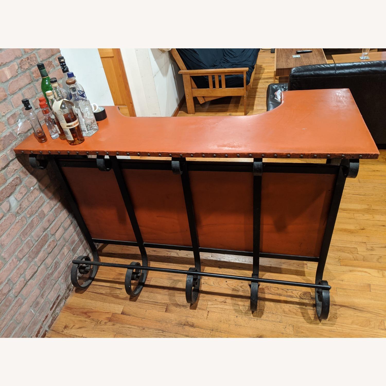 Antique Cast Iron Bar - image-1