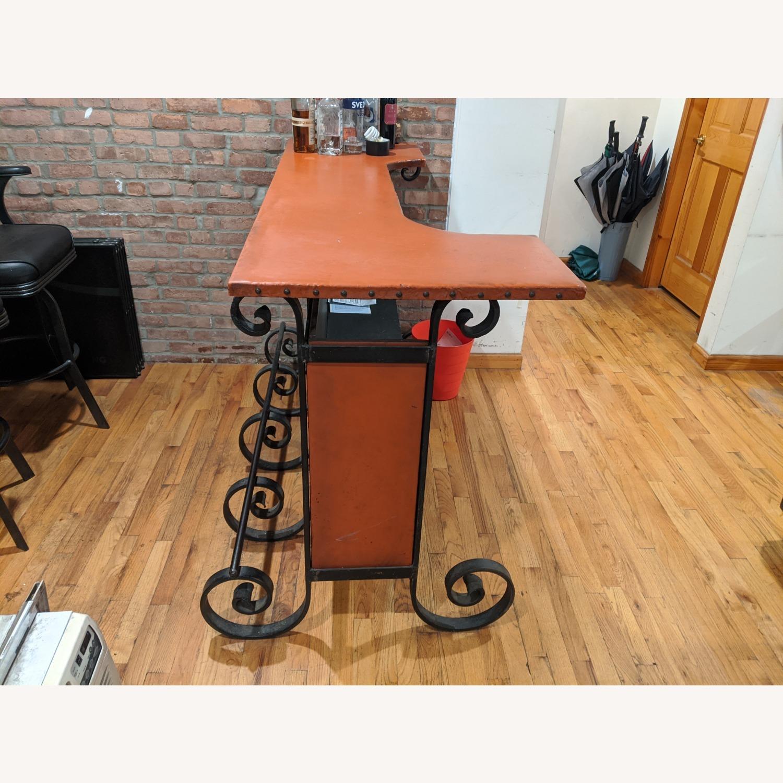 Antique Cast Iron Bar - image-2