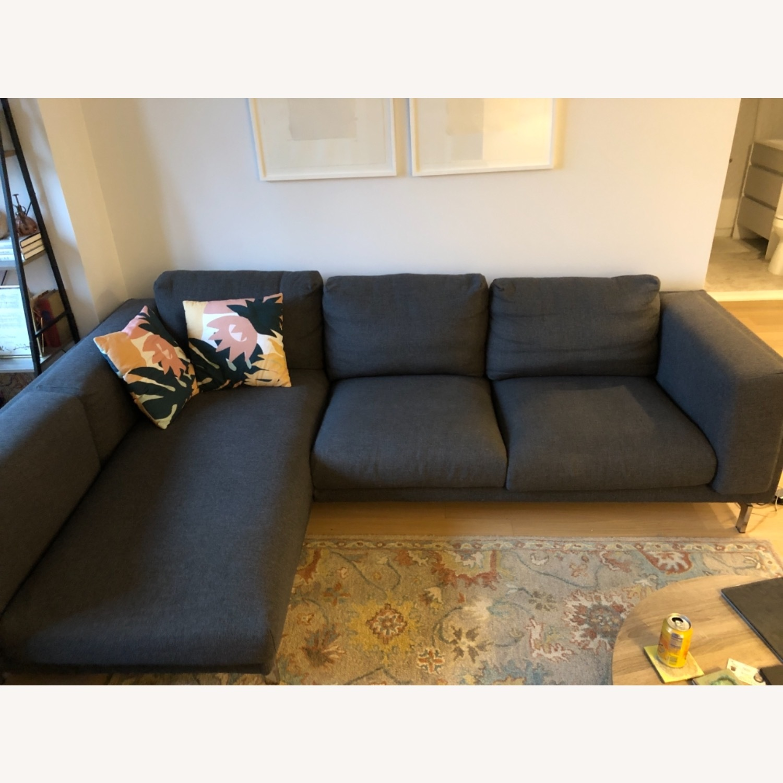 IKEA Nockeby Dark Grey Sectional - image-2