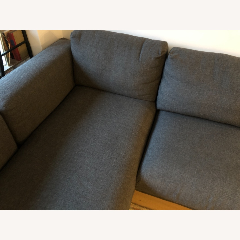 IKEA Nockeby Dark Grey Sectional - image-4