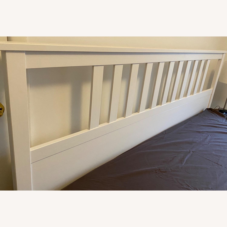 IKEA Hemnes White King Bed Frame - image-3