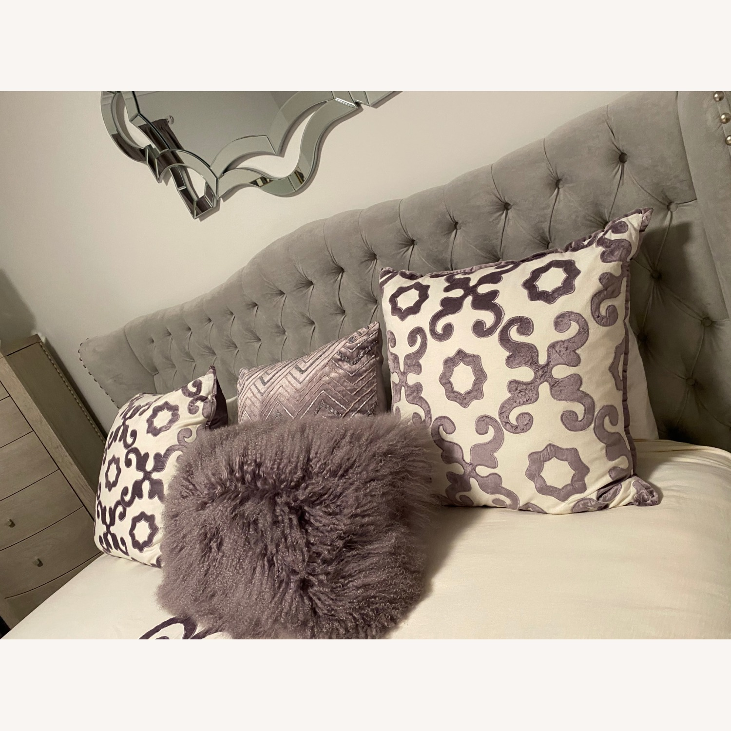 Z Gallerie Jameson King Bed, Gray - image-2