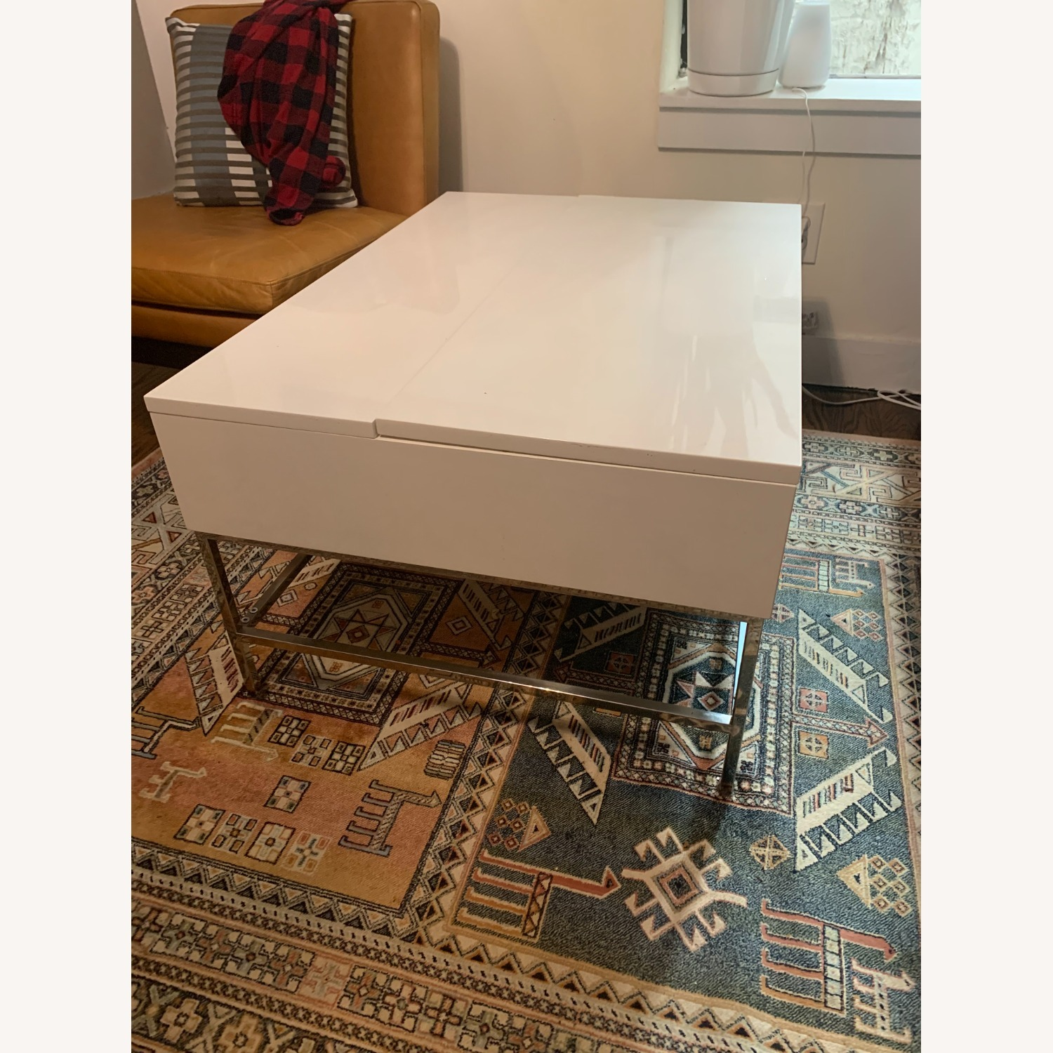 West Elm Pop Up Coffee Table - image-3