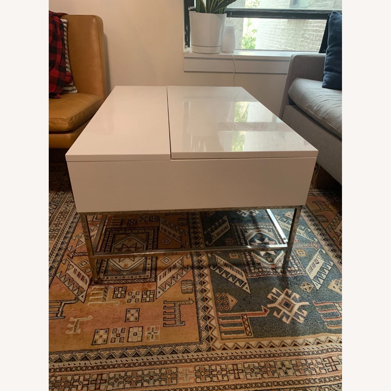 West Elm Pop Up Coffee Table - image-2