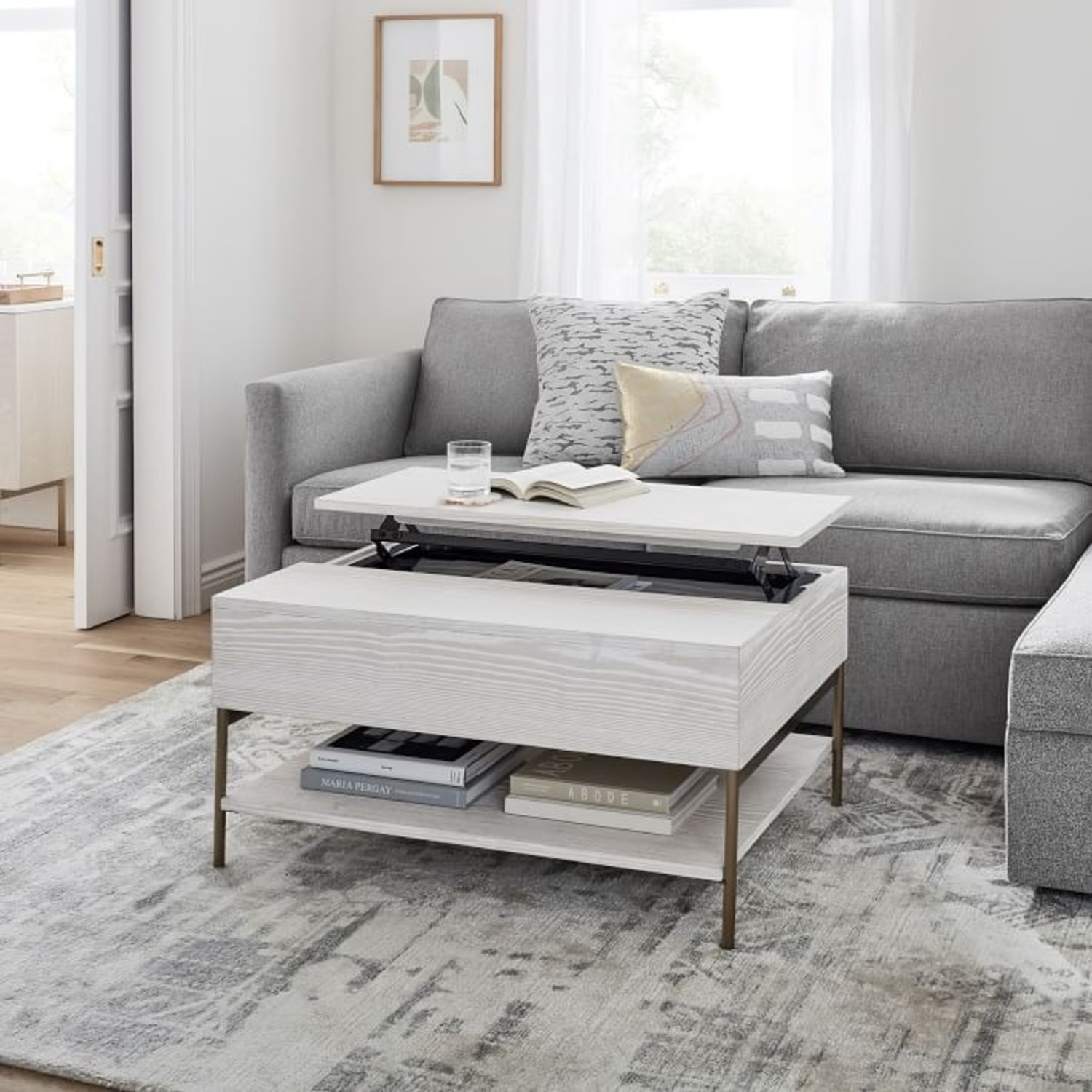 West Elm Pop Up Coffee Table - image-5
