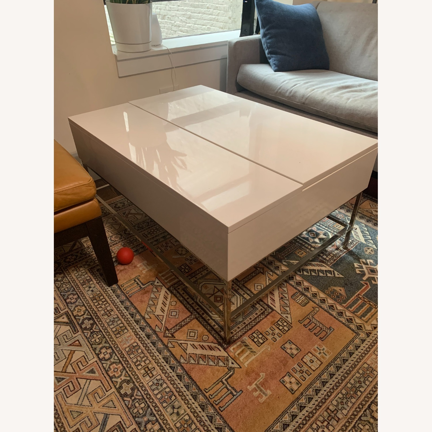 West Elm Pop Up Coffee Table - image-1