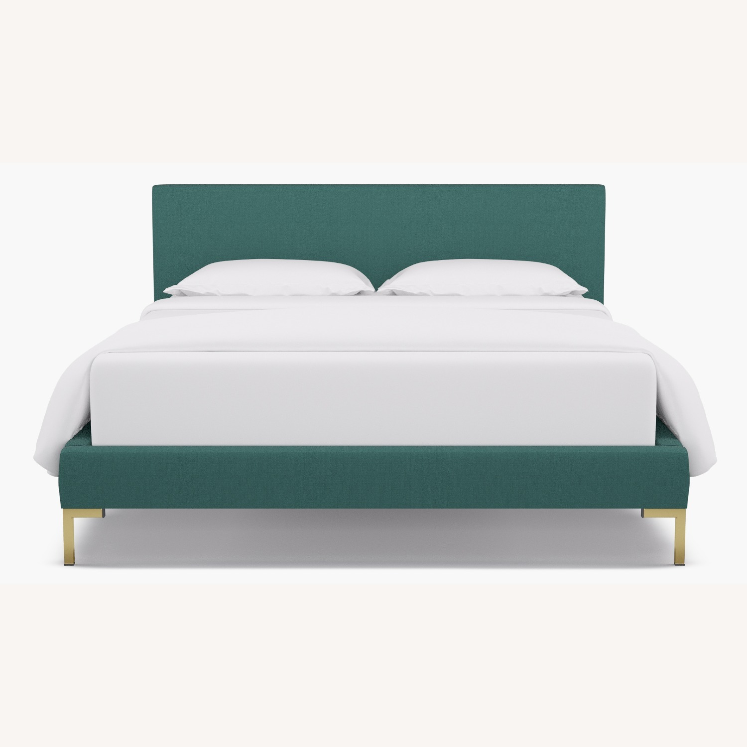 Modern Teal Green Bed - image-3