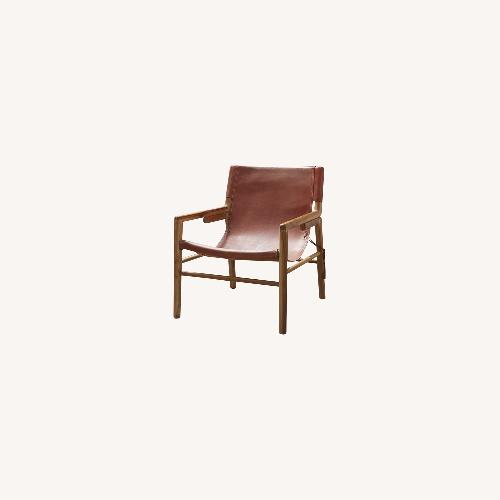 Used Wisteria Ruli Sitting Leather Chair for sale on AptDeco