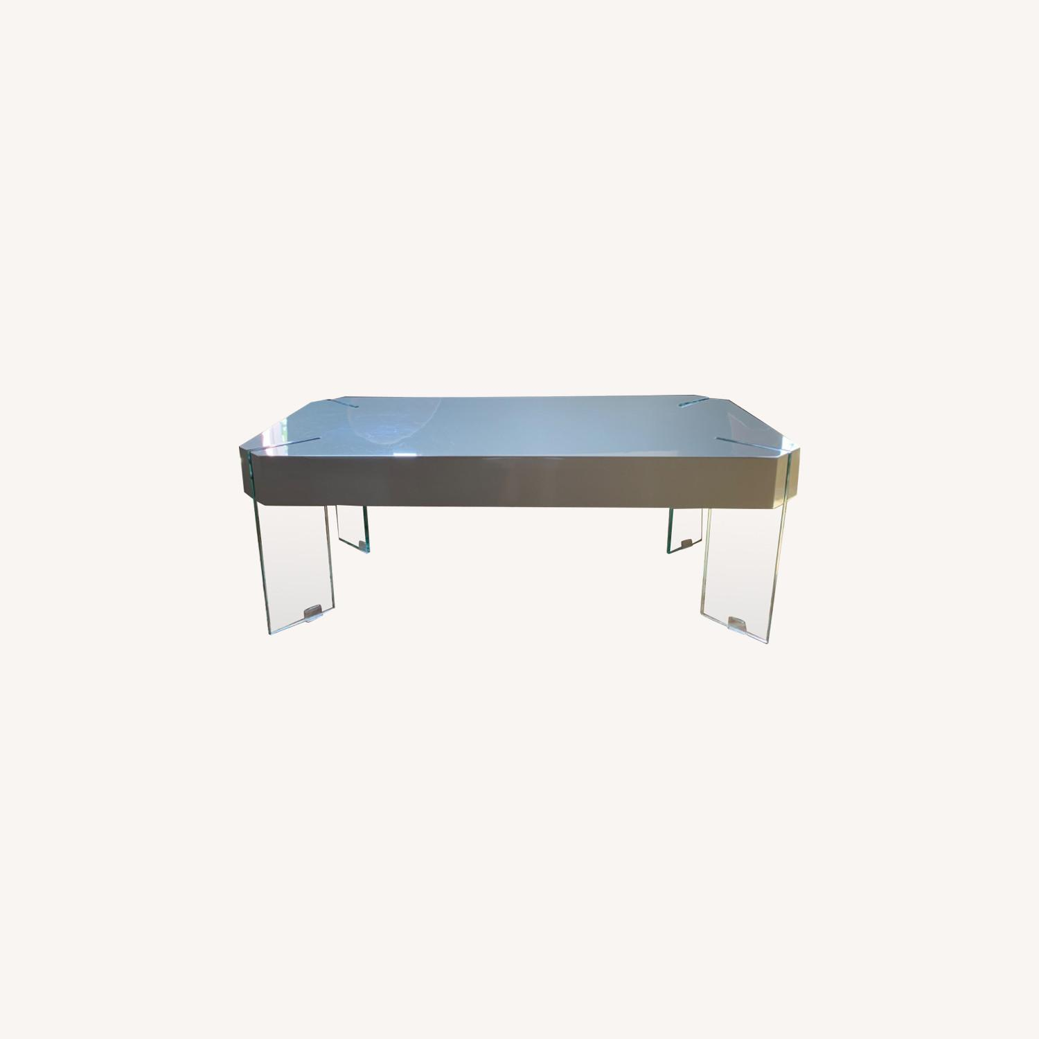 One King's Lane Lacquer Coffee Table - image-0