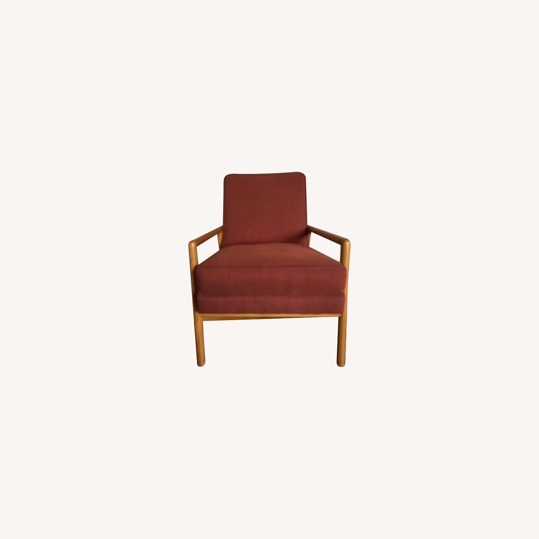 Rare T.H. Robsjohn-Gibbings Lounge Chair - image-0