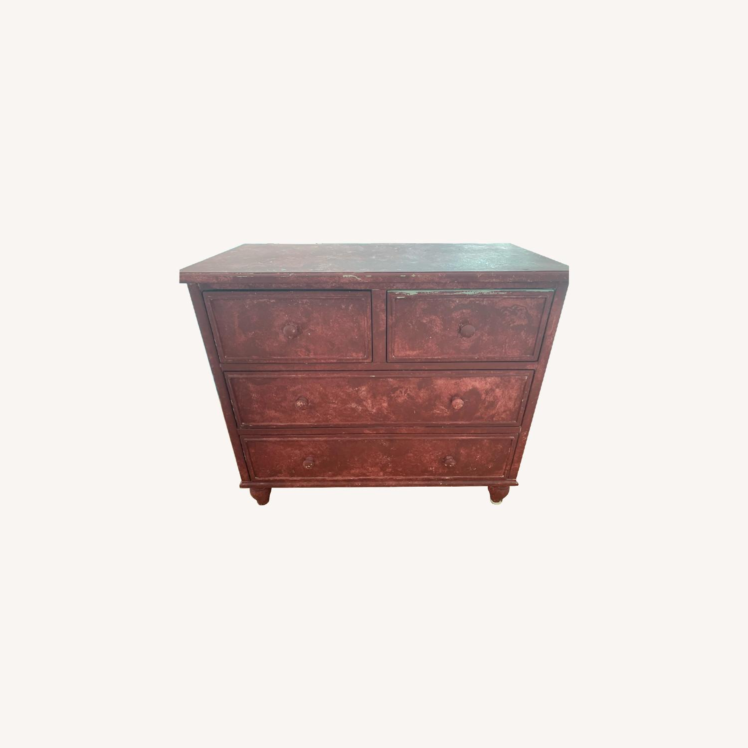 Pottery Barn Dresser (Painted) - image-0