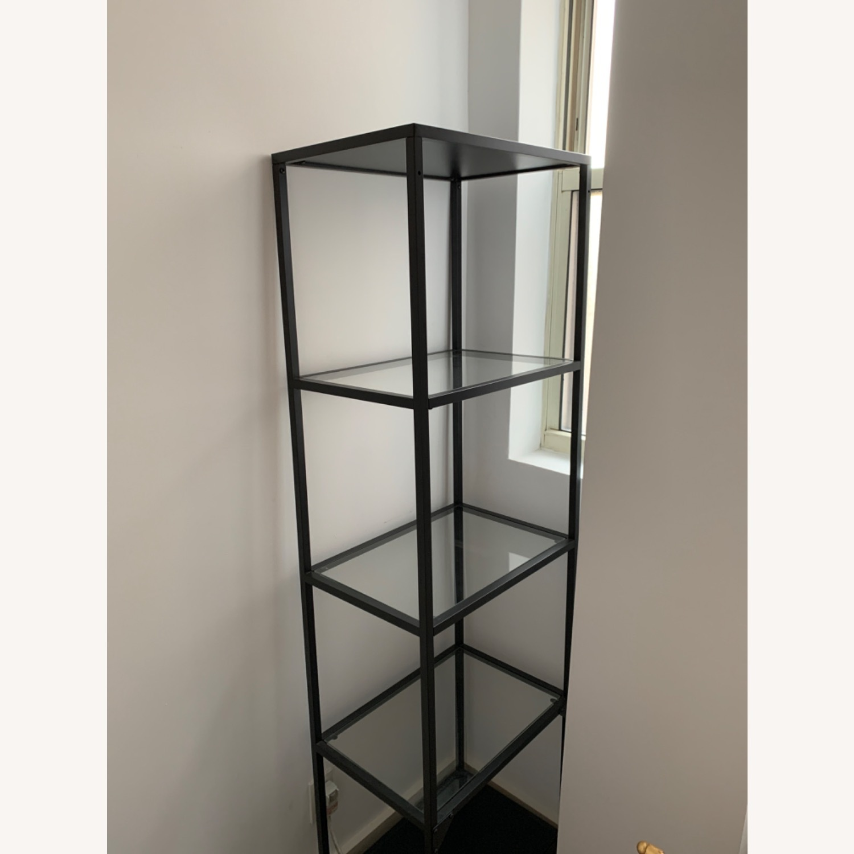 IKEA Glass Shelving Unit - image-1