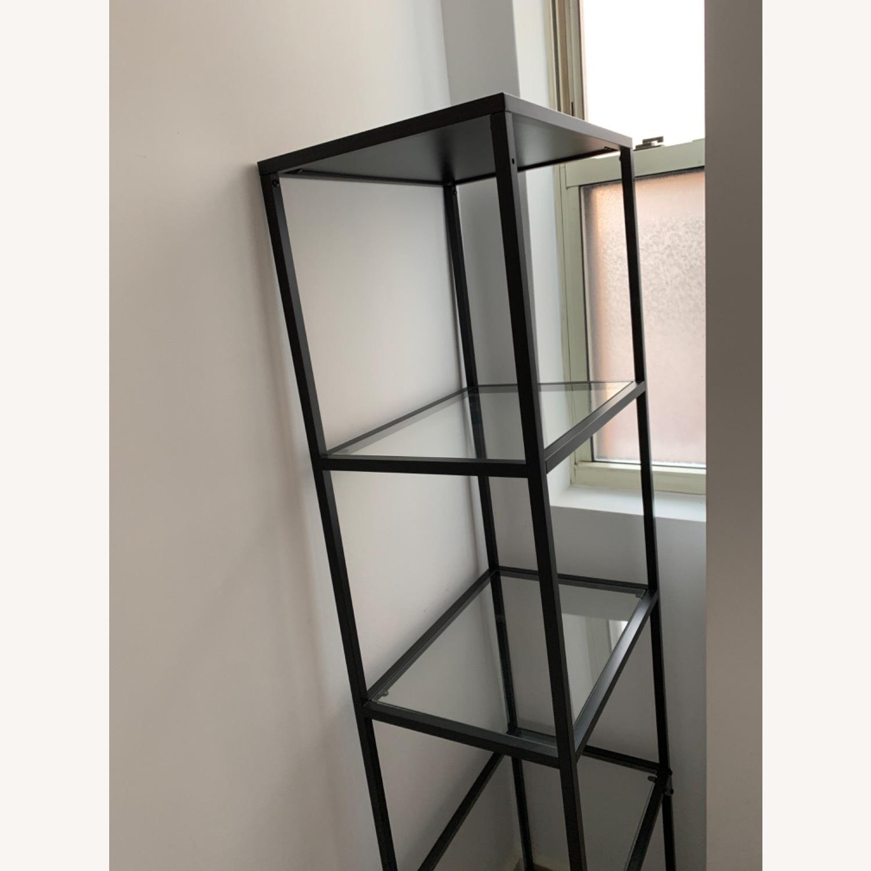 IKEA Glass Shelving Unit - image-2