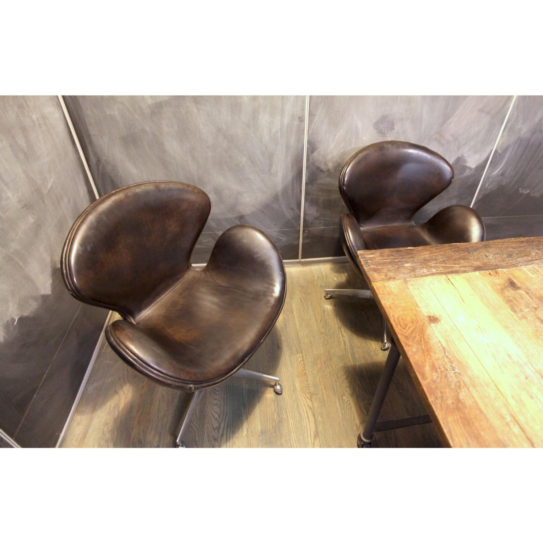 Restoration Hardware Office Chair - image-3