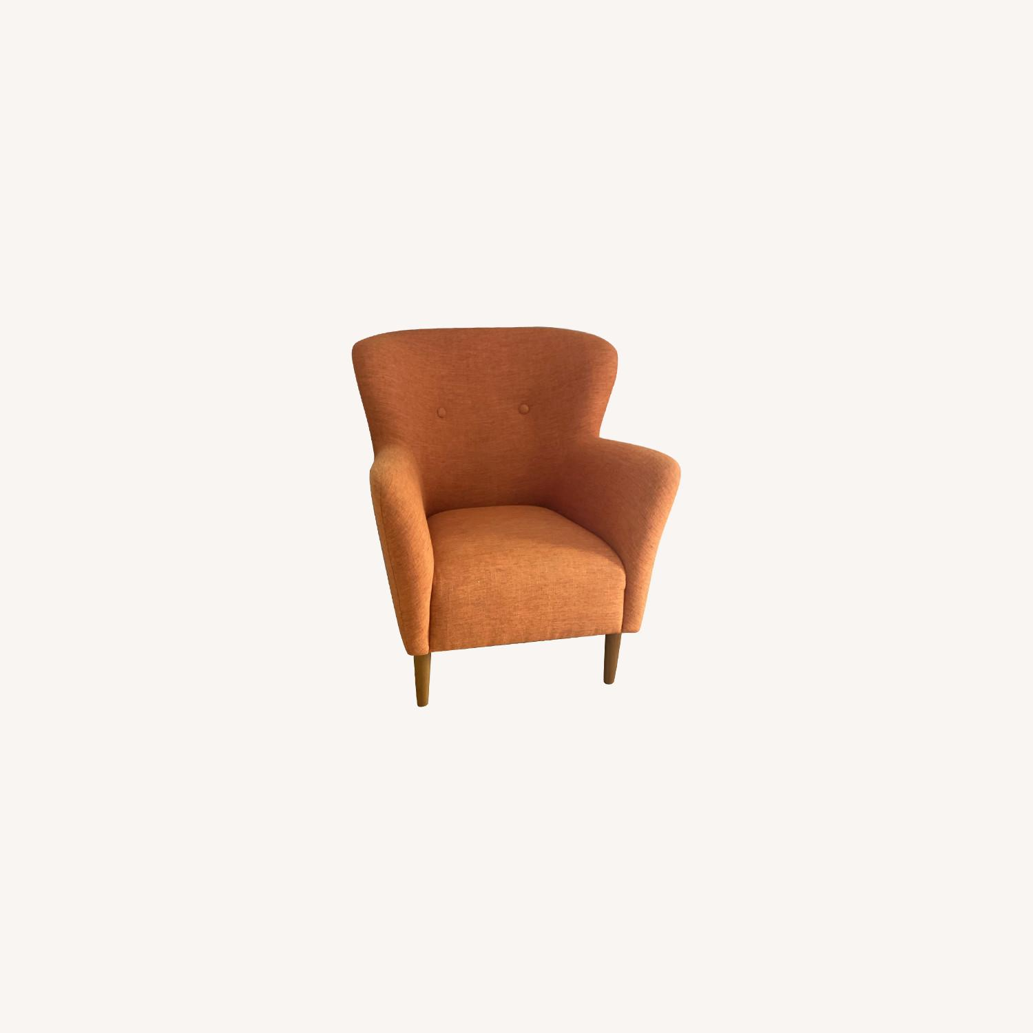 Article Orange Lounge Chair - image-0