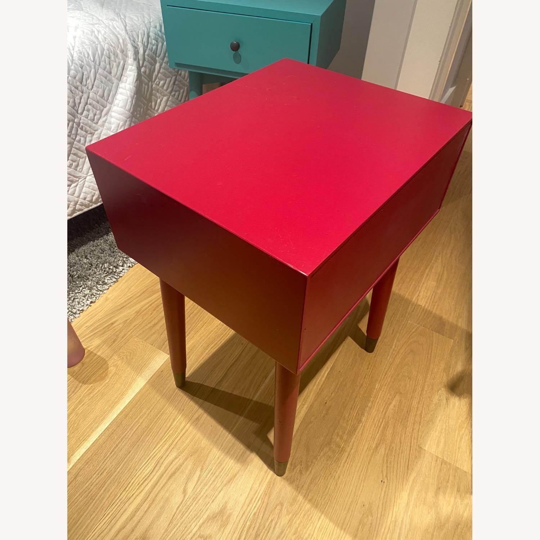 Magenta Scandinavian Side Table - image-2