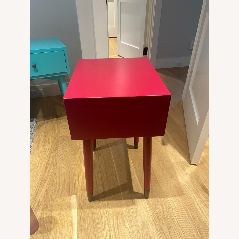 Magenta Scandinavian Side Table - image-3