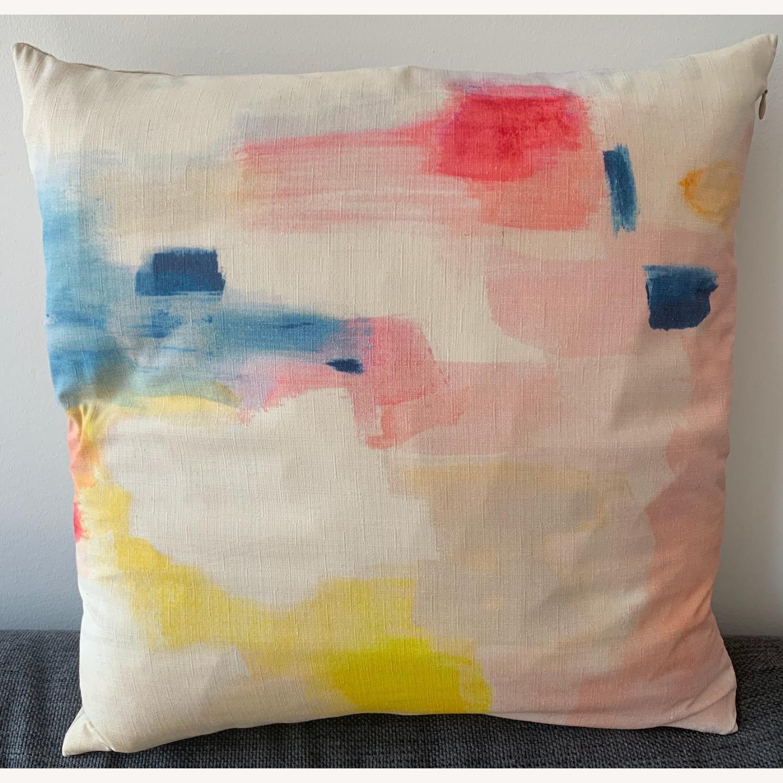 West Elm Accent Pillow - image-1