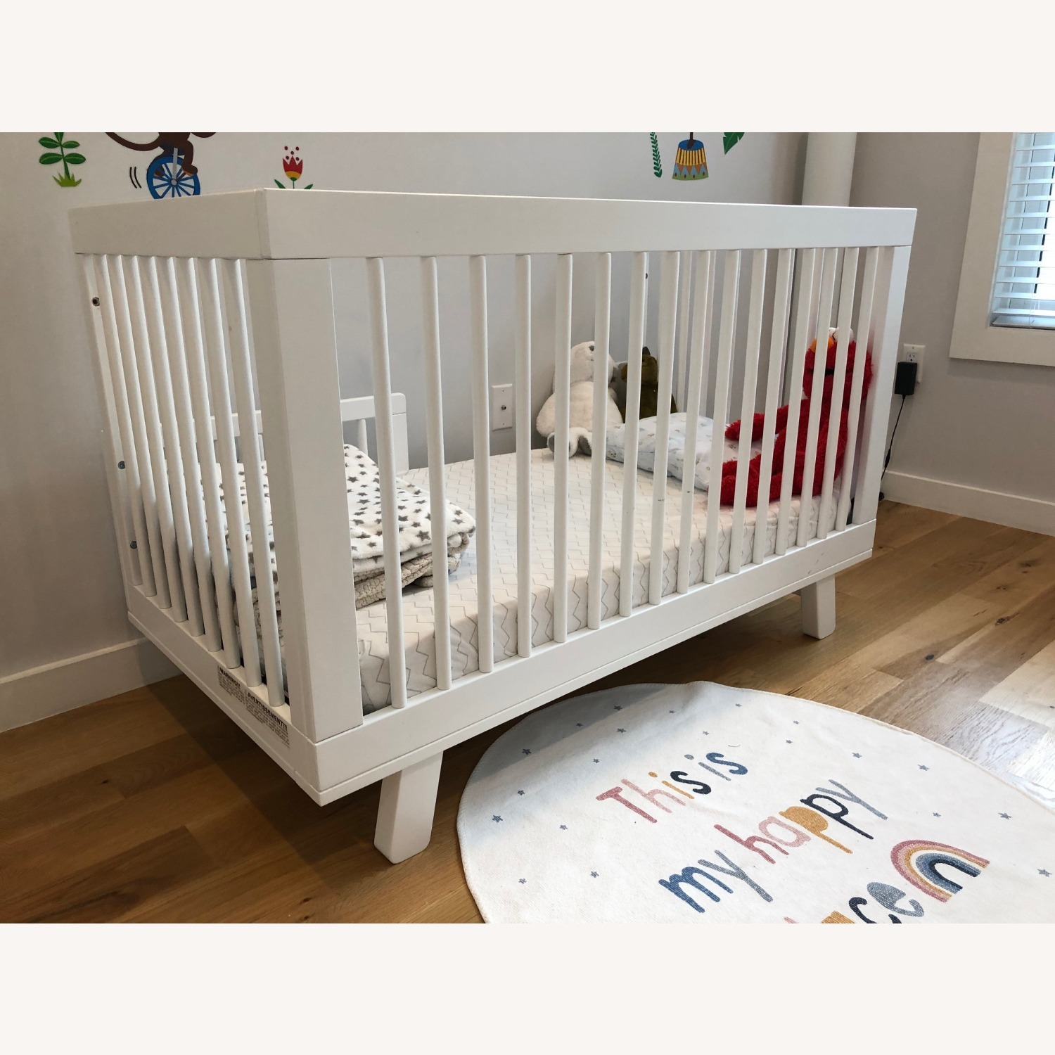 Babyletto Hudson 3-in-1 Convertible Crib - image-1