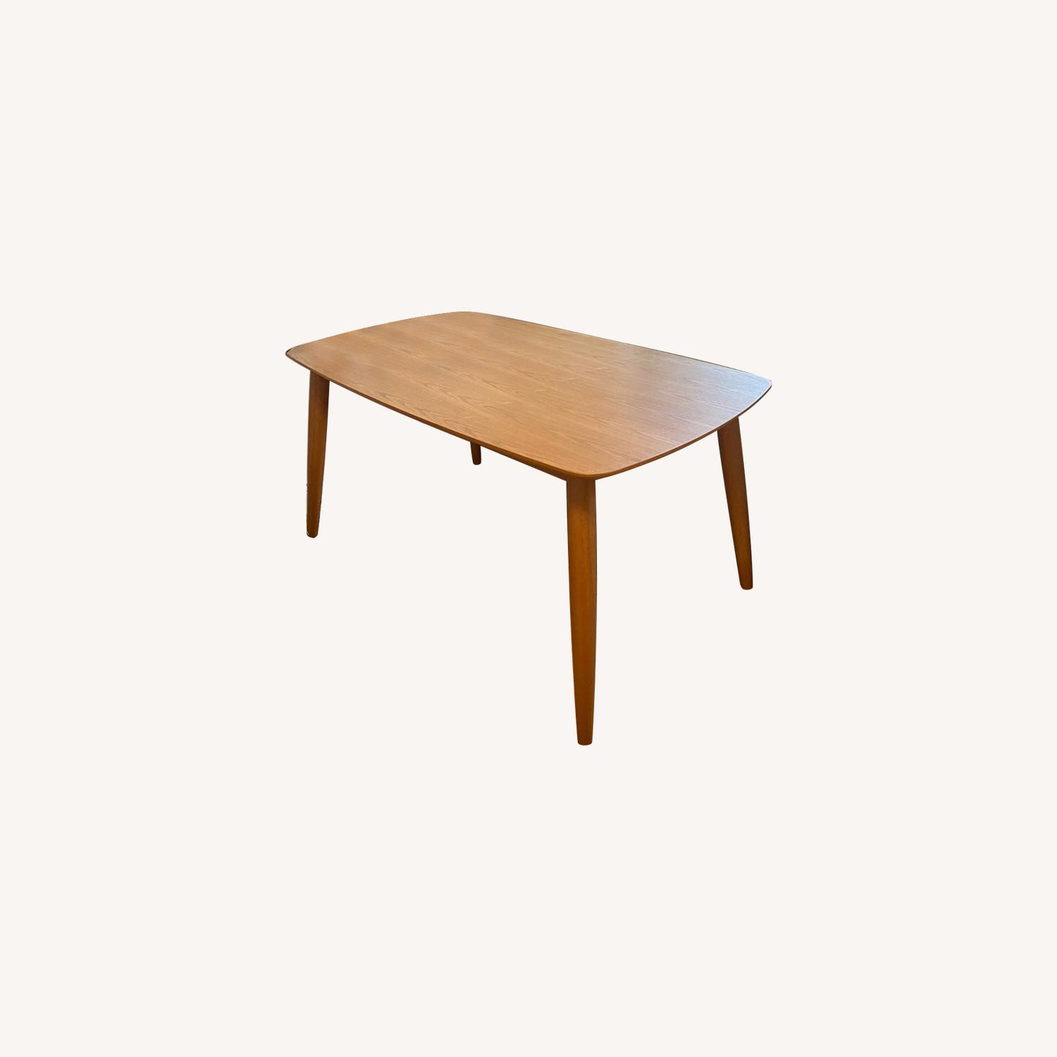 All Modern Gracie Dining Table Oak - image-0