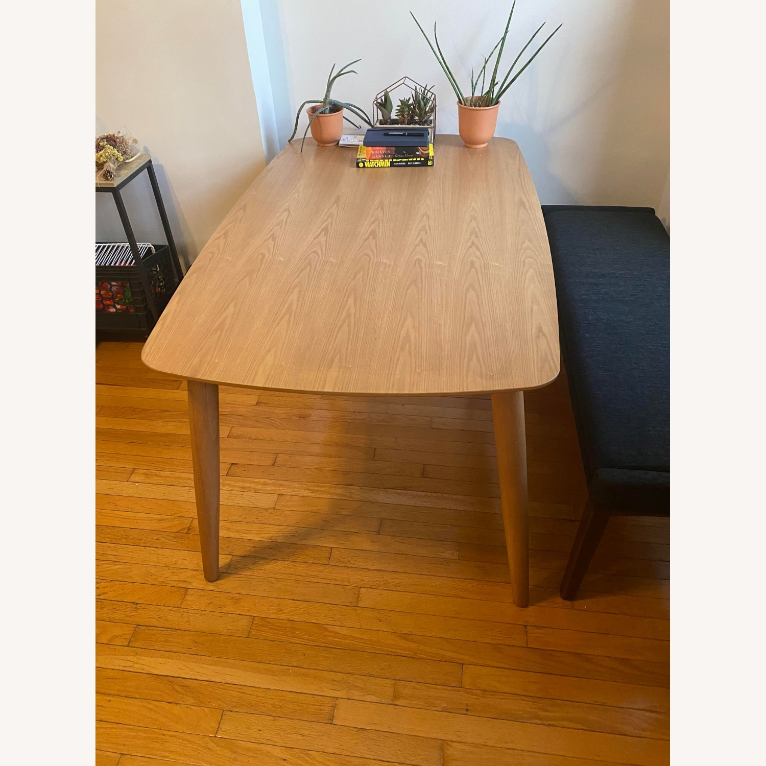 All Modern Gracie Dining Table Oak - image-3