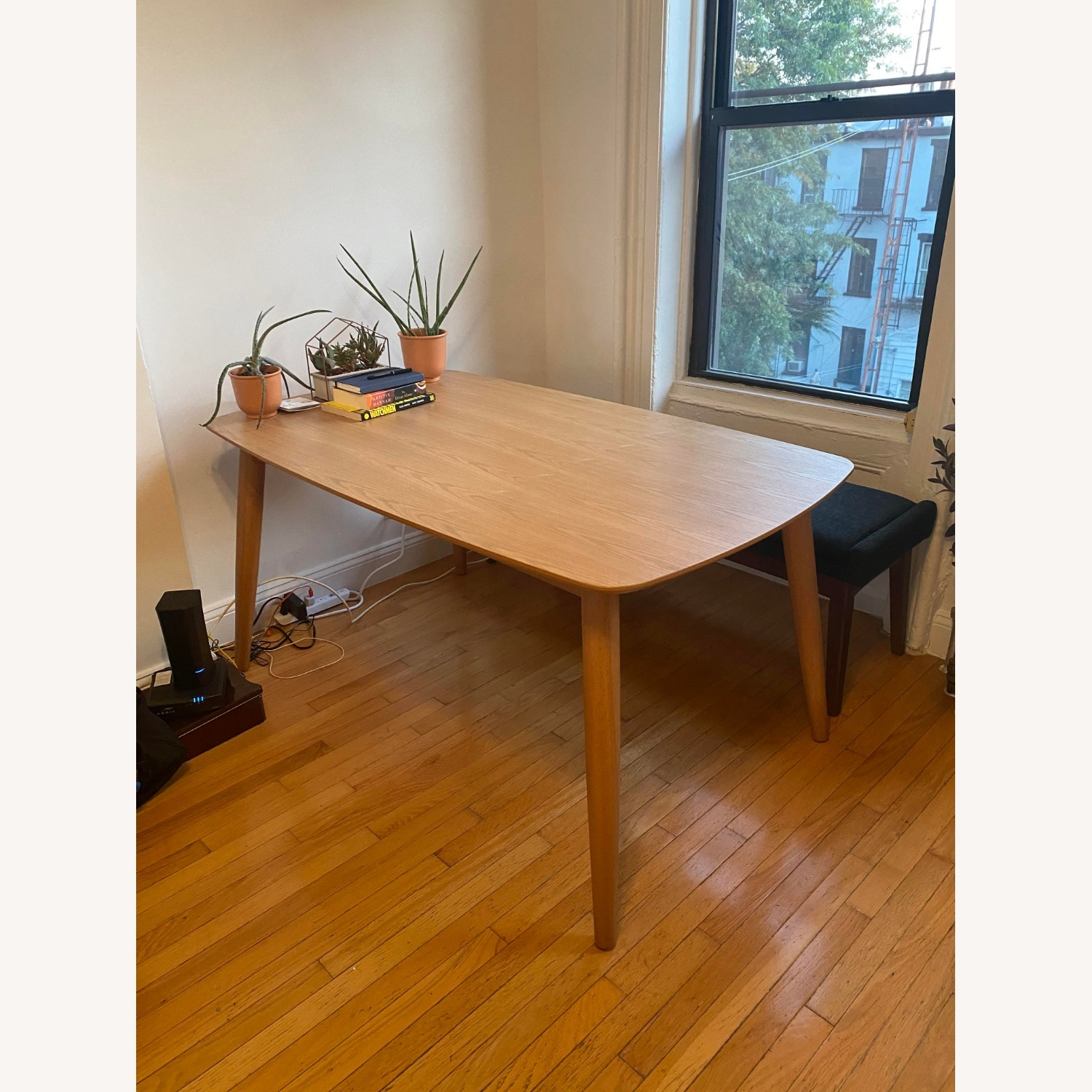 All Modern Gracie Dining Table Oak - image-1