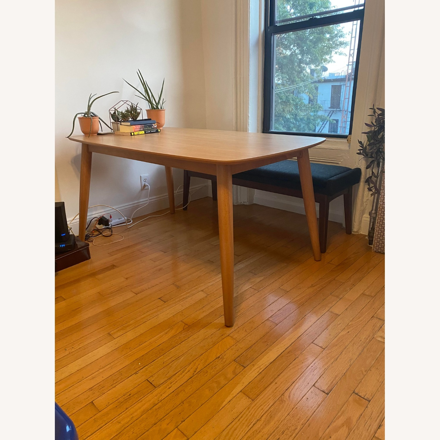 All Modern Gracie Dining Table Oak - image-2