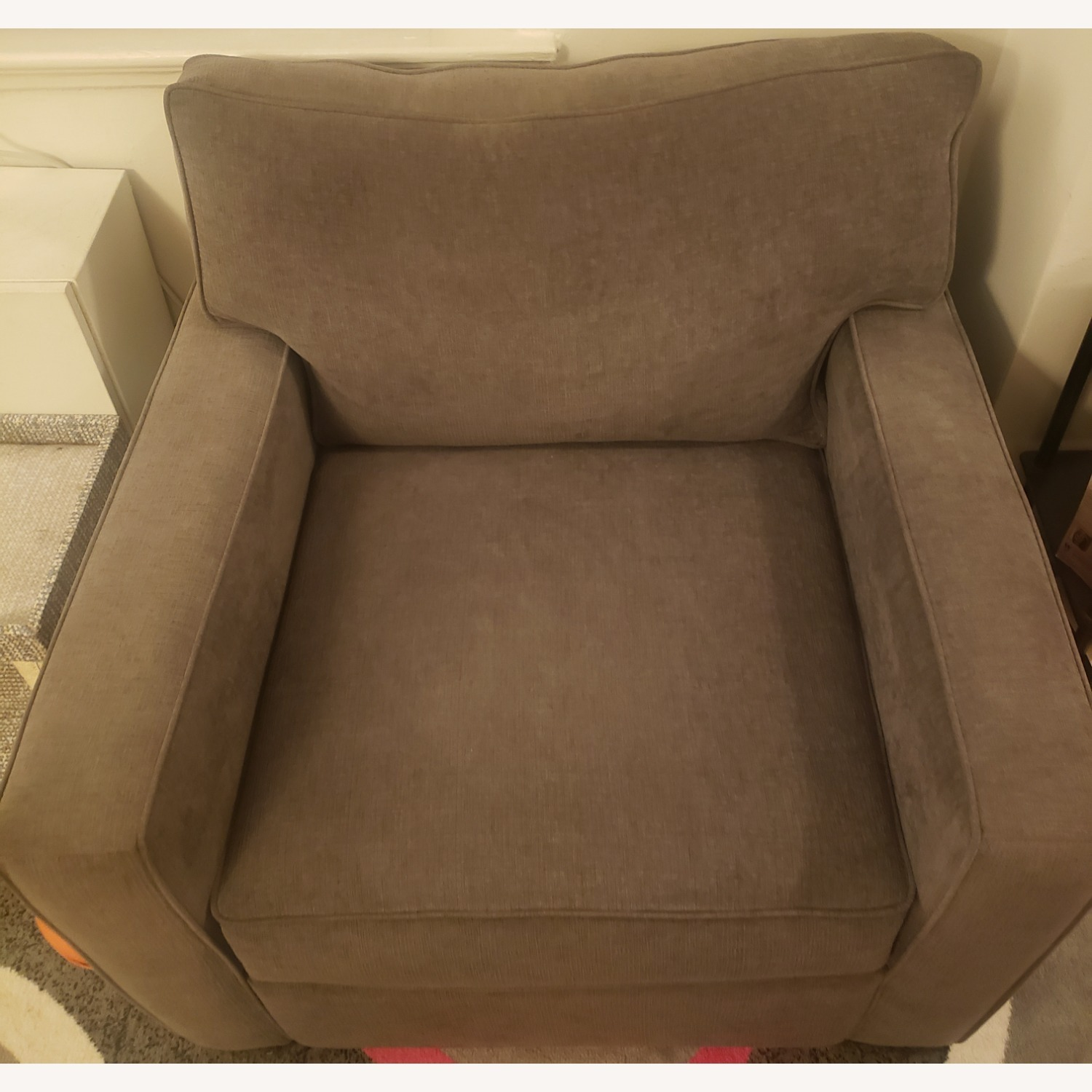 Macy's Gray Chair and a Half - image-2