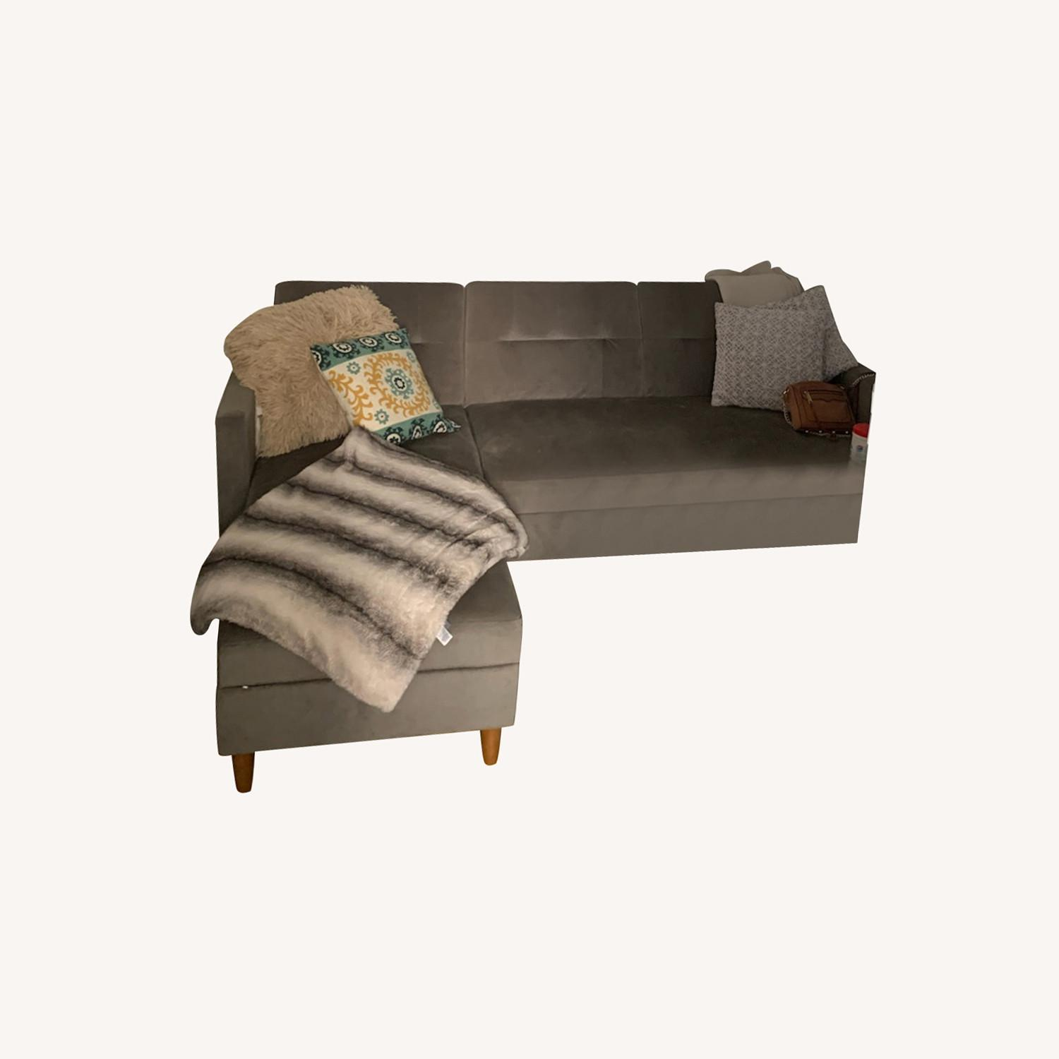 Wayfair Haskell Sofa & Chaise Sectional - image-4